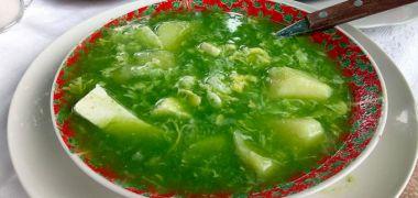 Caldo verde de Cajamarca