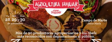 "Feria de la Agricultura Familiar ""Come Peruano"""
