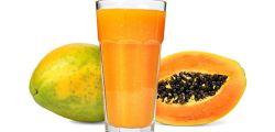 Jugo de papaya