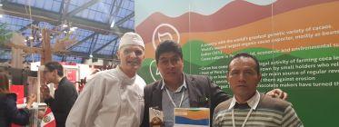 PRODUCTORES DE HUÁNUCO REPRESENTAN AL PERÚ EN EL SALÓN DEL CACAO Y CHOCOLATE EN BÉLGICA