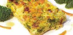 Pastel de quinua con Brocoli