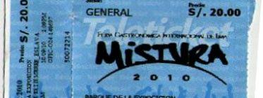 Mistura 2010, gustos y disgustos
