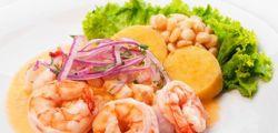 Ceviche de camarones