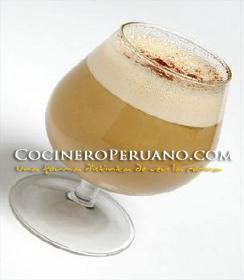 Coctel de Algarrobina