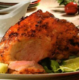 Pierna de Cerdo al horno para navidad